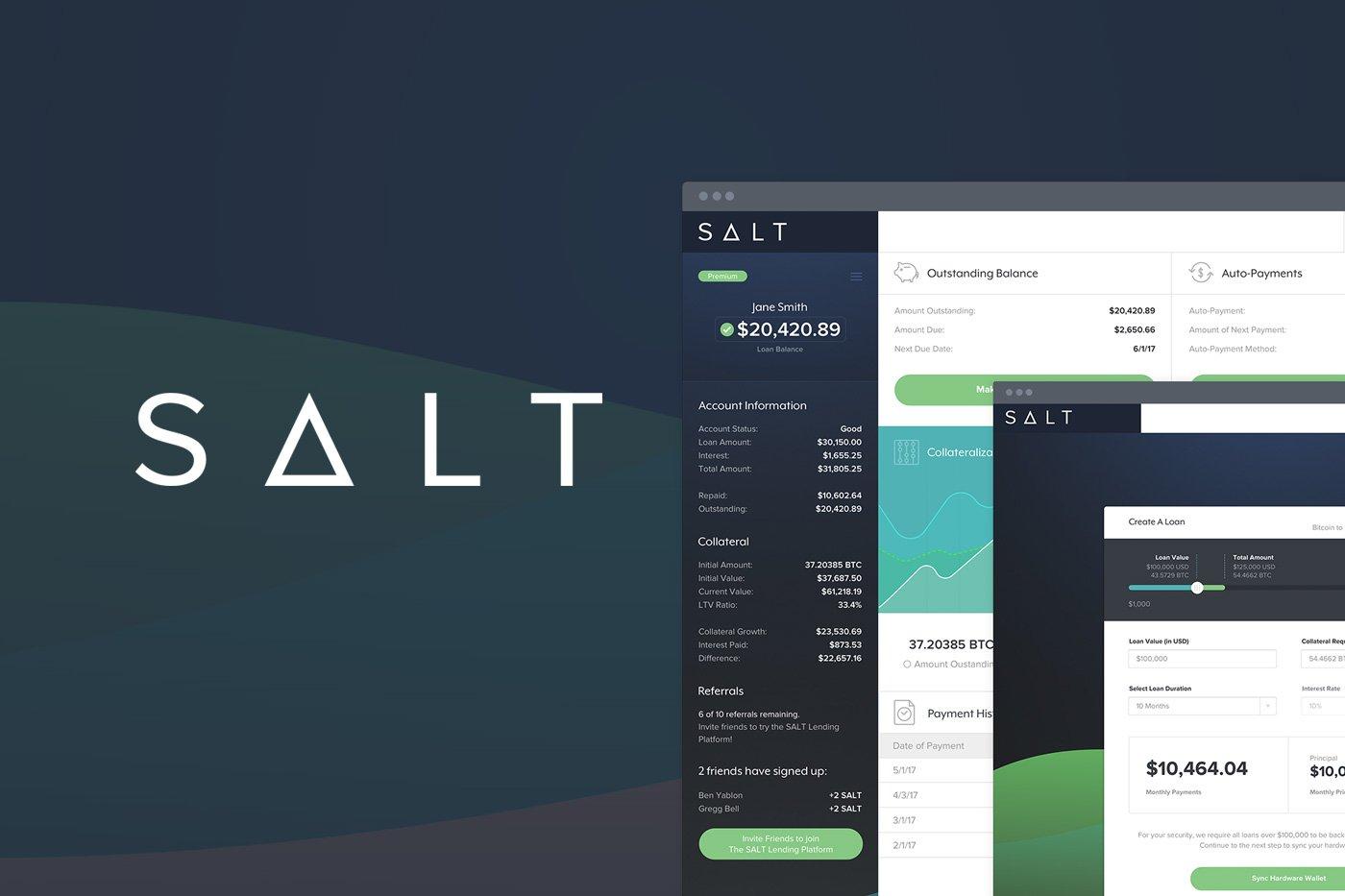 Beginner S Guide To Salt Cryptocurrency Lending Platform