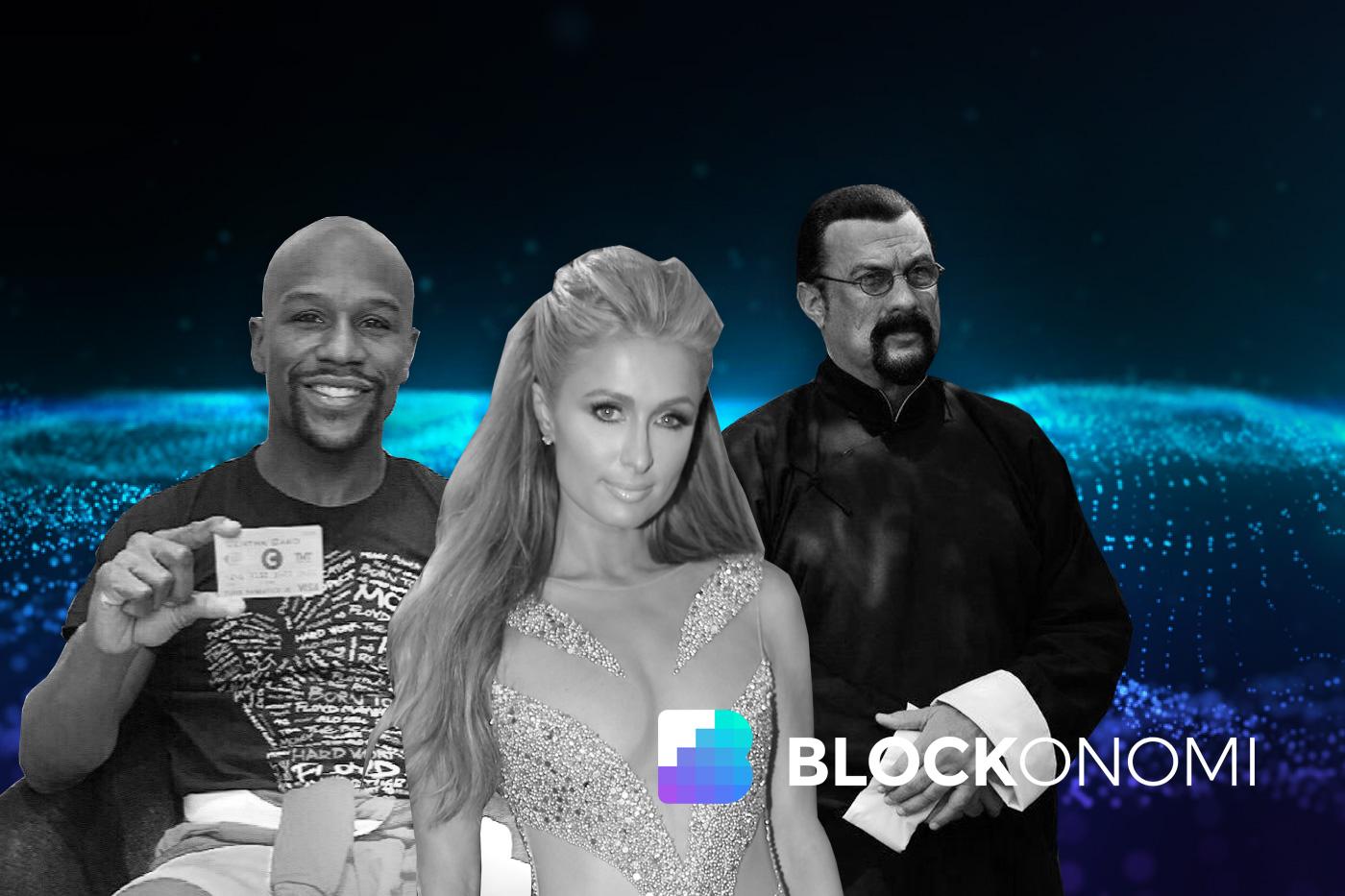 Celebrities Cryptocurrency