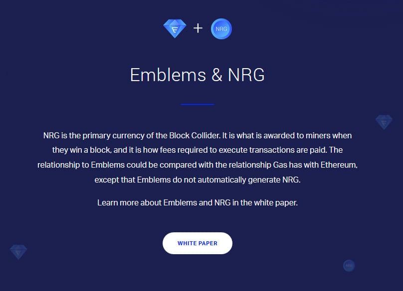 Emblems & NRG