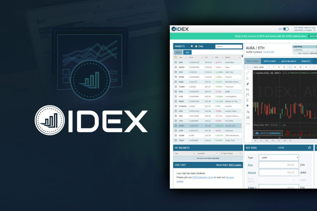 "IDEX 2.0: Exchange Embraces ""Complete Rebuild"" & Ethereum Scaling Solution"