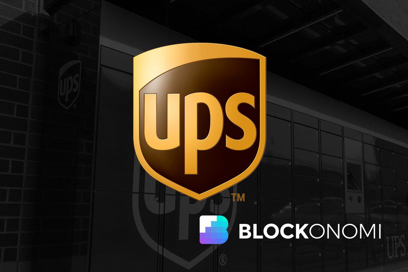 UPS Blockchain Patent