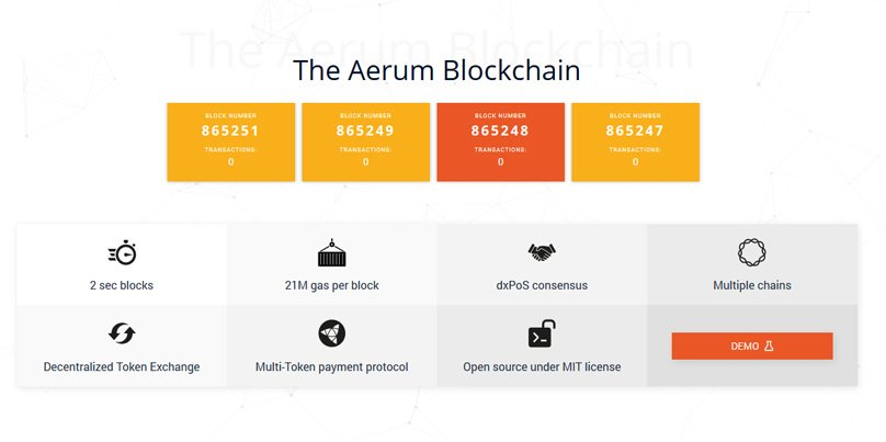 Aerum Blockchain