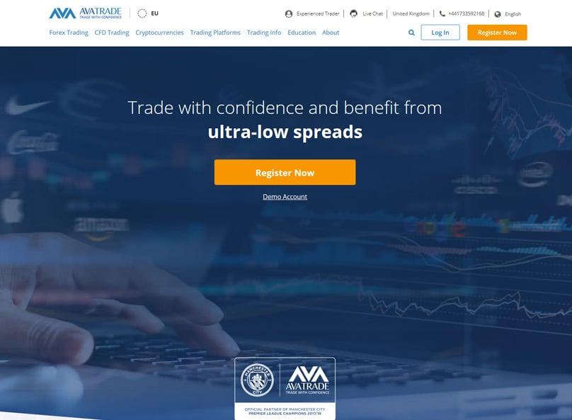 AVATrade Website