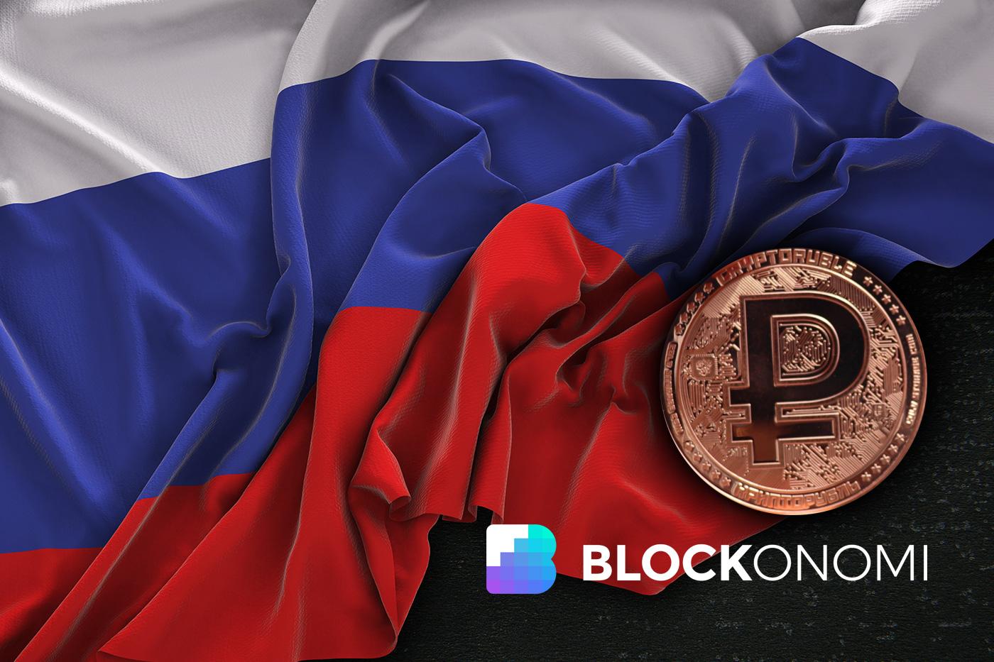 Russia CryptoRuble Coin
