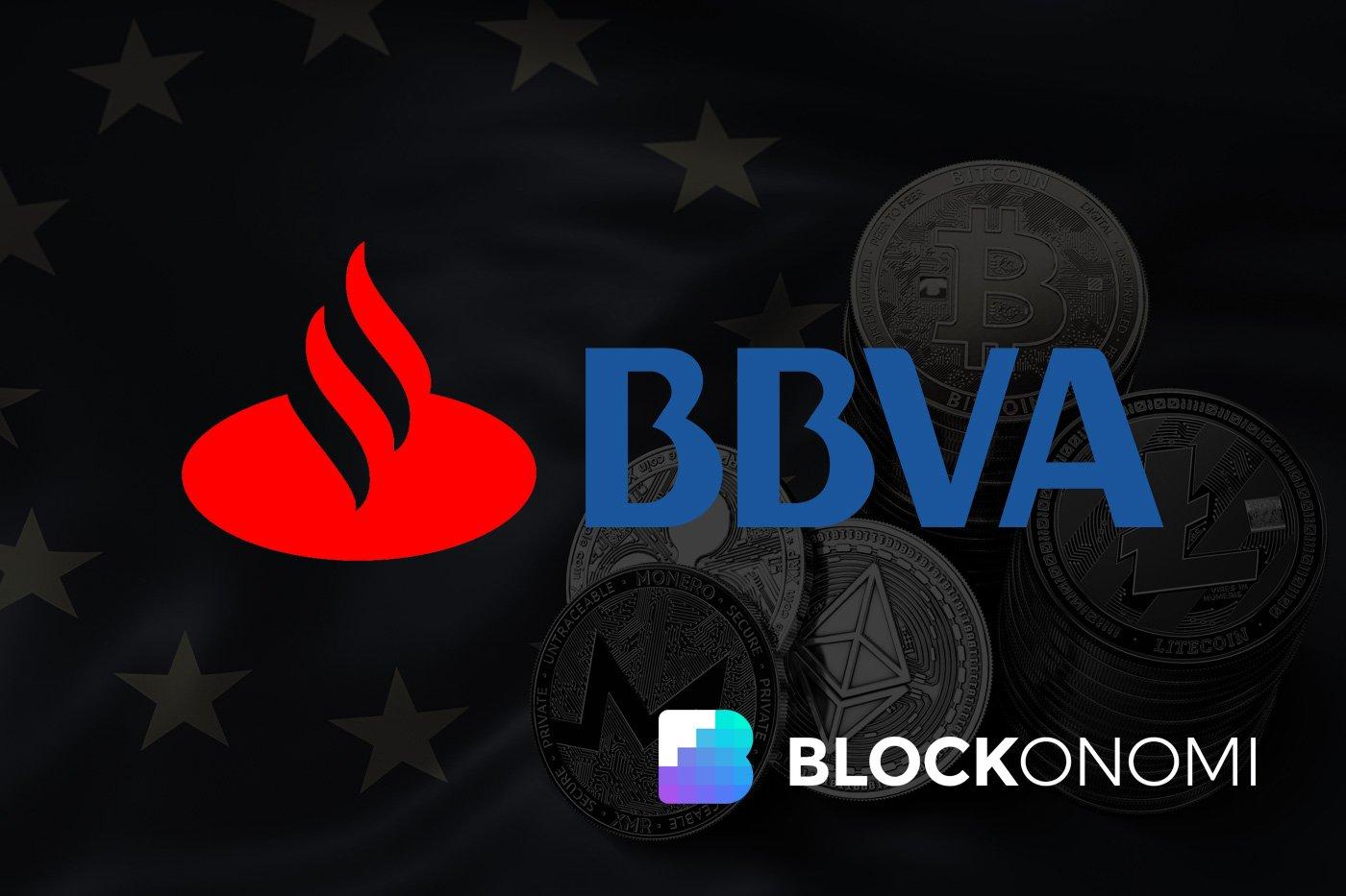 Santander and BBVA Joining EU Blockchain Association