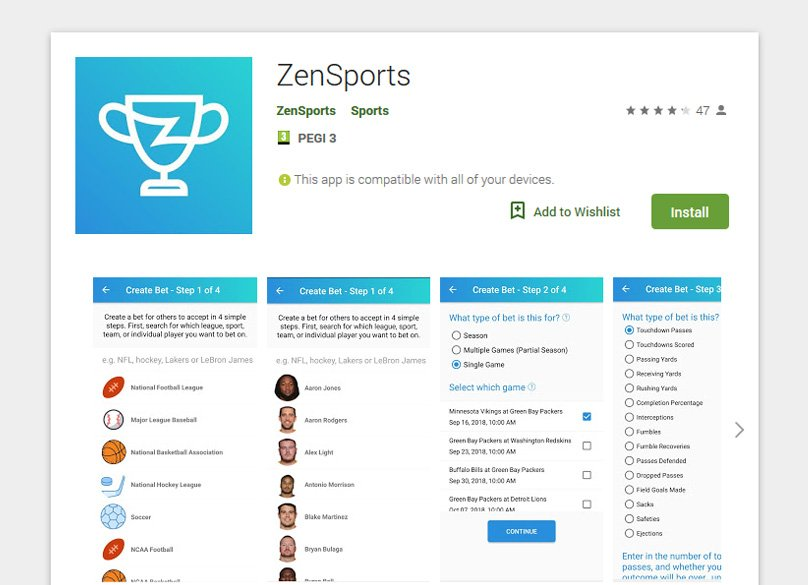 ZenSports App