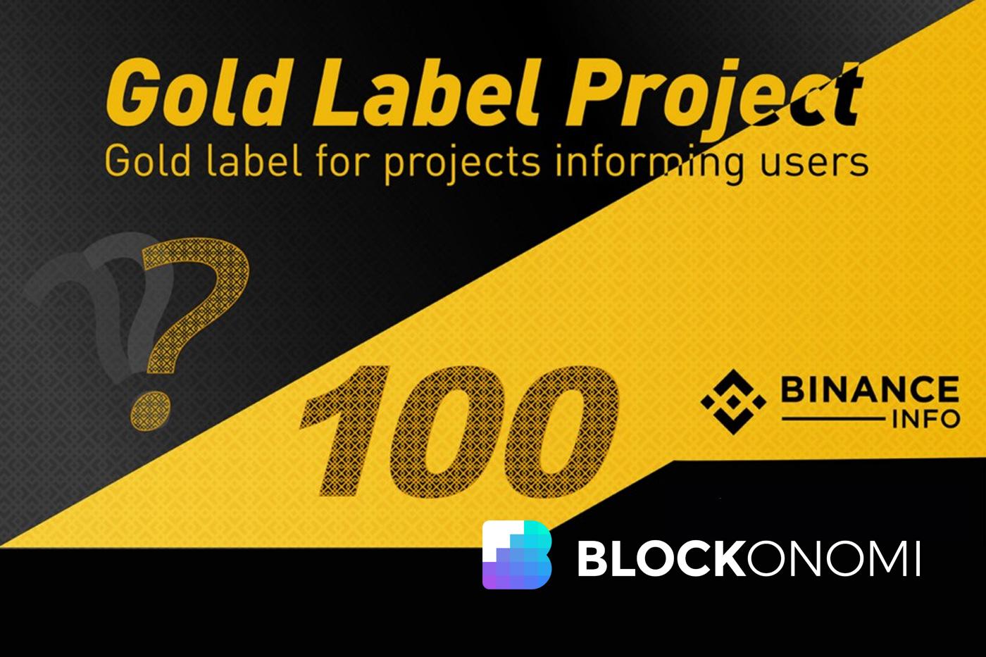 Binance Gold Label