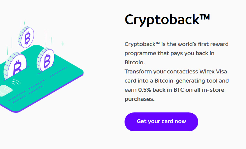 Cryptoback Rewards