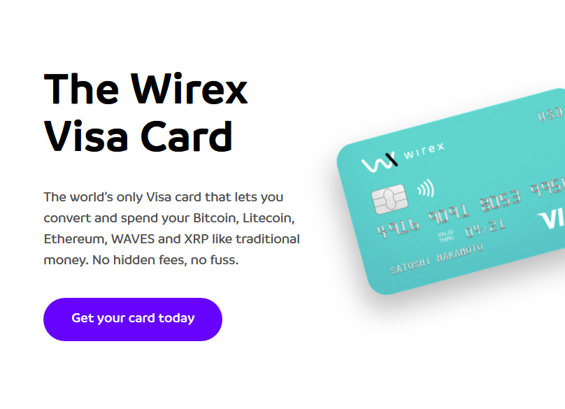 Wirex Review: Wallet App & VISA Payment Card for Cryptocurrency & Fiat