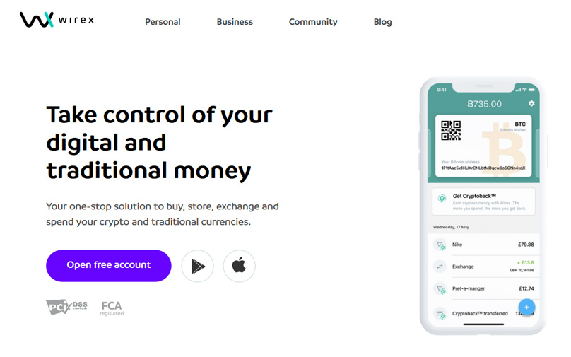 Wirex Website