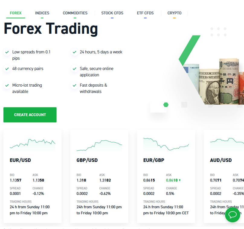 XTB Trading Instruments