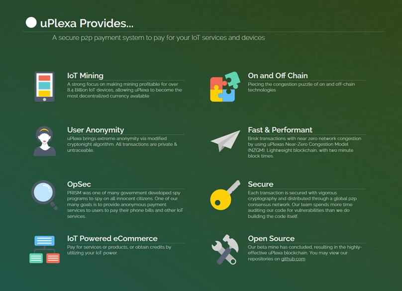 uPlexa Features