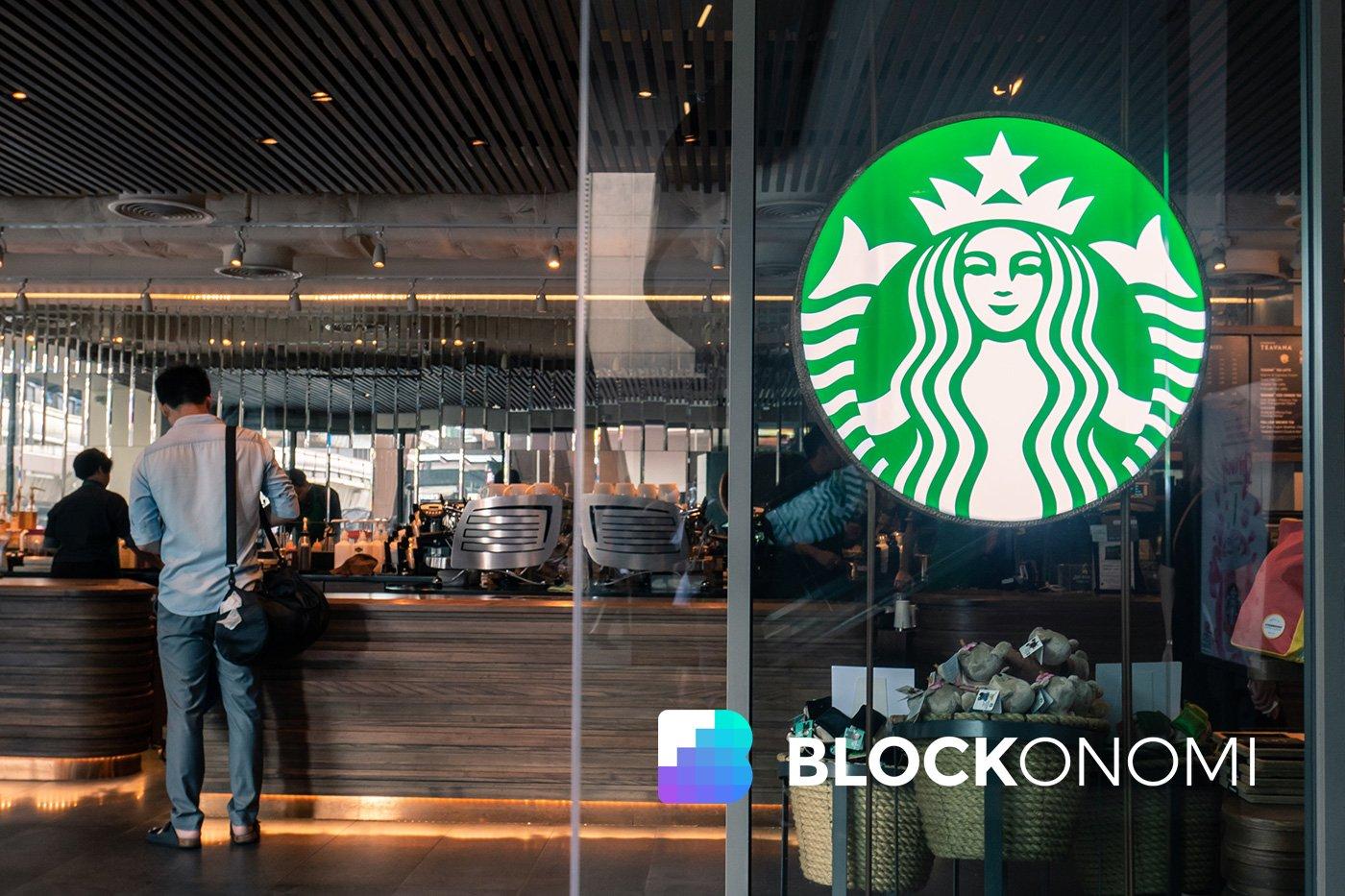 Bitcoin Starbucks