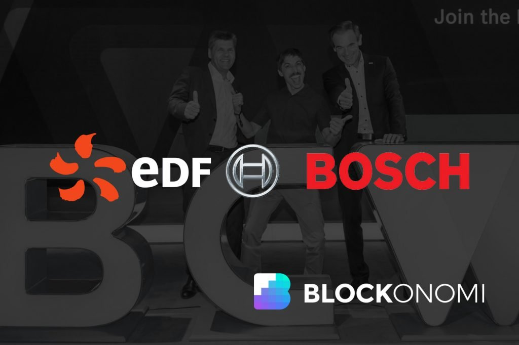 Notable Enterprises Bosch and EDF Turn to Blockchain in Electricity Arena