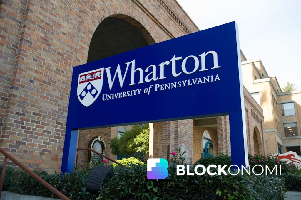 Wharton School Rolls Out Online Course on Crypto and Blockchain