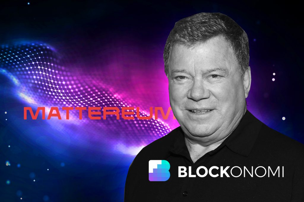 William Shatner Teams Up with London's Mattereum on Tokenized Collectibles