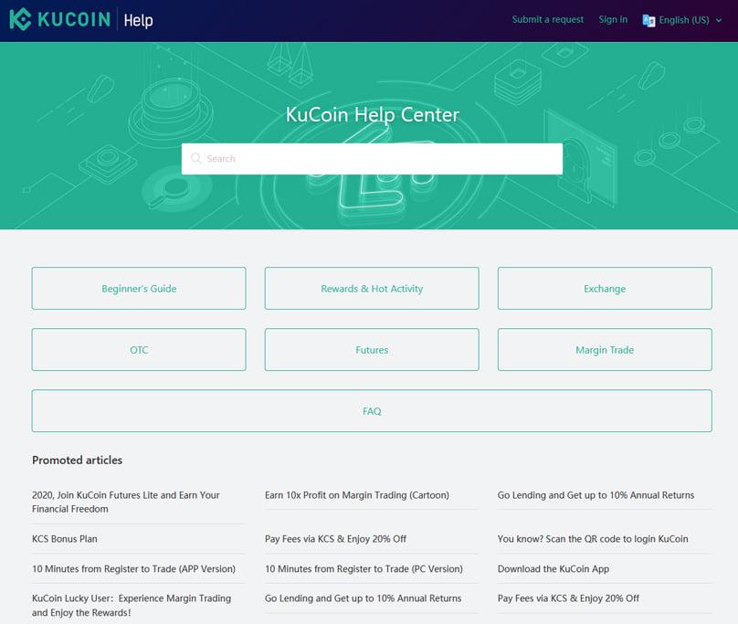 Kucoin Customer Support