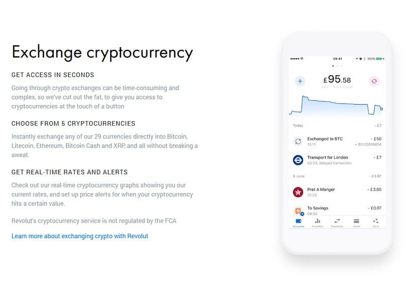 Revolut Cryptocurrency