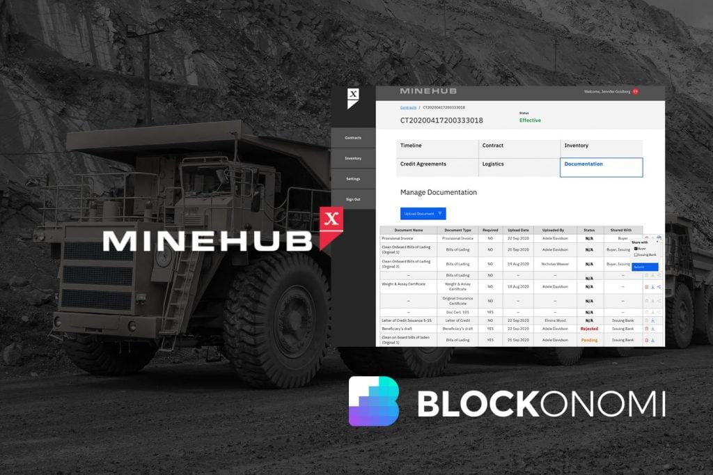 MineHub Launches HyperLedger-Powered Mining Industry Platform