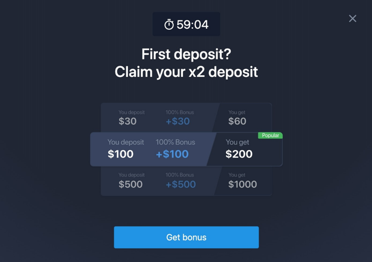 ExpertOption Bonus