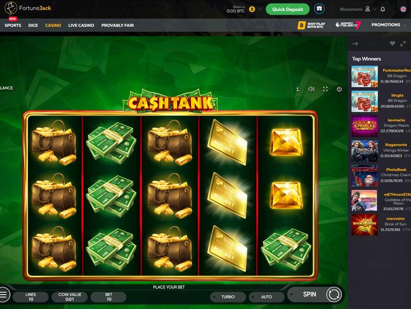Cash Tank Game