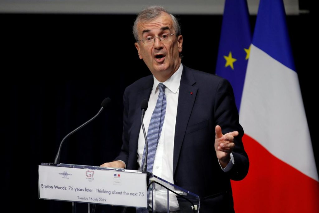Governor of the Bank of France Francois Villeroy de Galhau