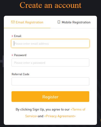 Bybit Registration
