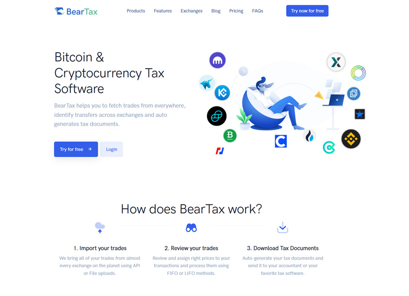 The BearTax Homepage