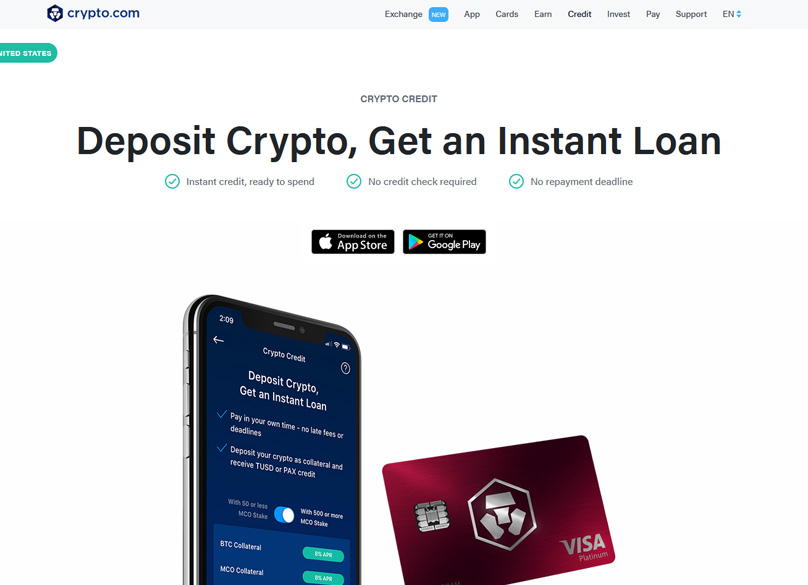 Deposit Crypto, Get an Instant Loan