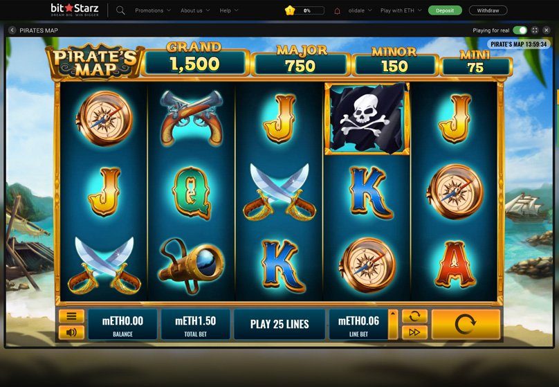 Pirate's Map Slots Game