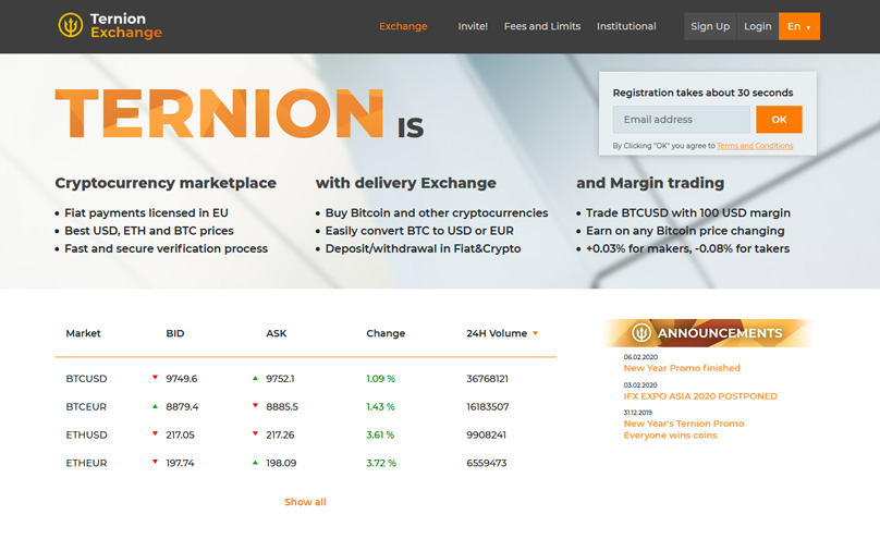 Ternion Homepage