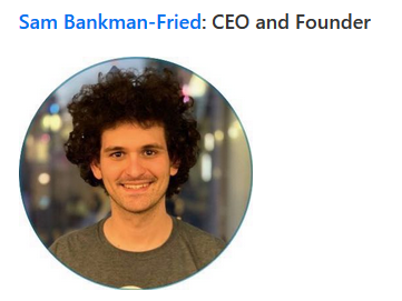 Sam Bankman Fried