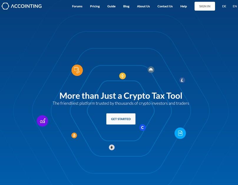 Accointing Homepage