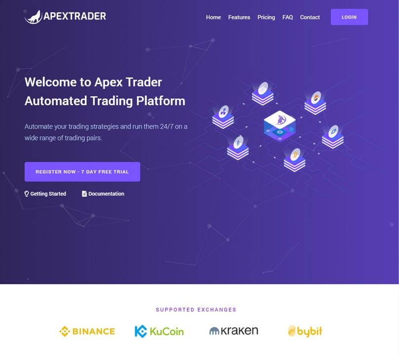Apex Trader Homepage