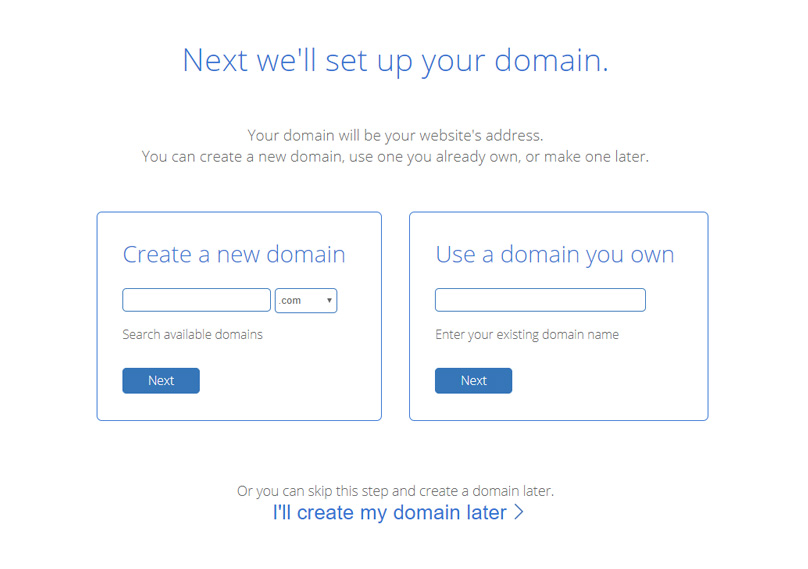 Claim you free domain name.