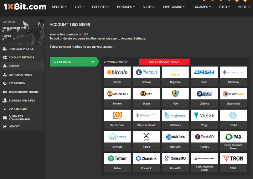 Cryptocurrency Payment Options