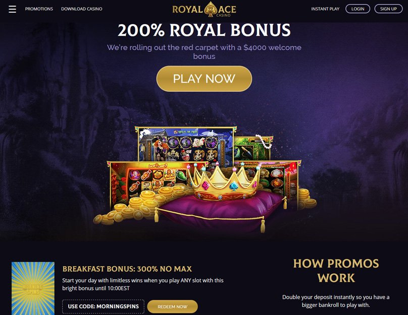 Lots of welcome bonuses are available