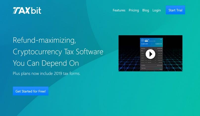 TaxBit Homepage