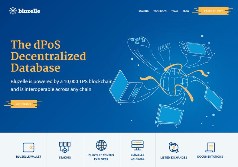 Bluezelle: dPoS Decentralized Database