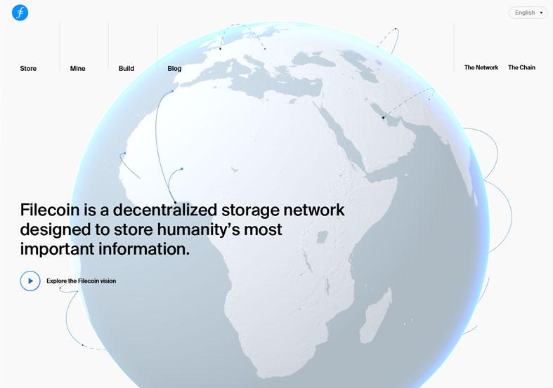 Filecoin: Decentralized storage network
