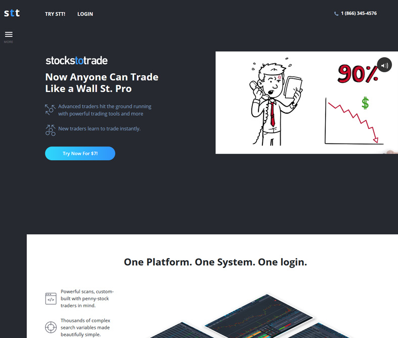 StocksToTrade Homepage
