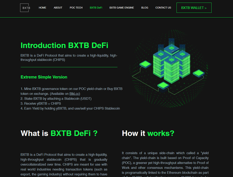A Yield-Generating Stablecoin: BXTB's Vision to Transform Yield Farming