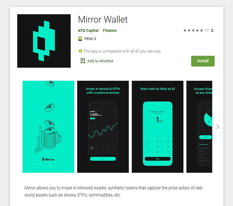Mirror Wallet