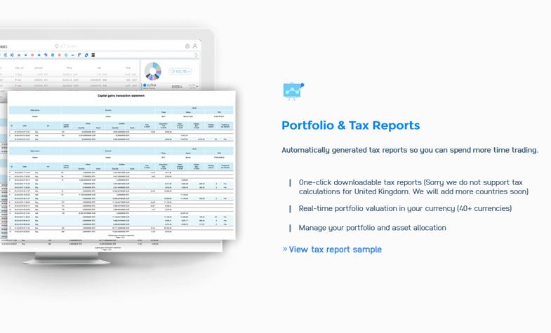 Portfolio & Tax Reports