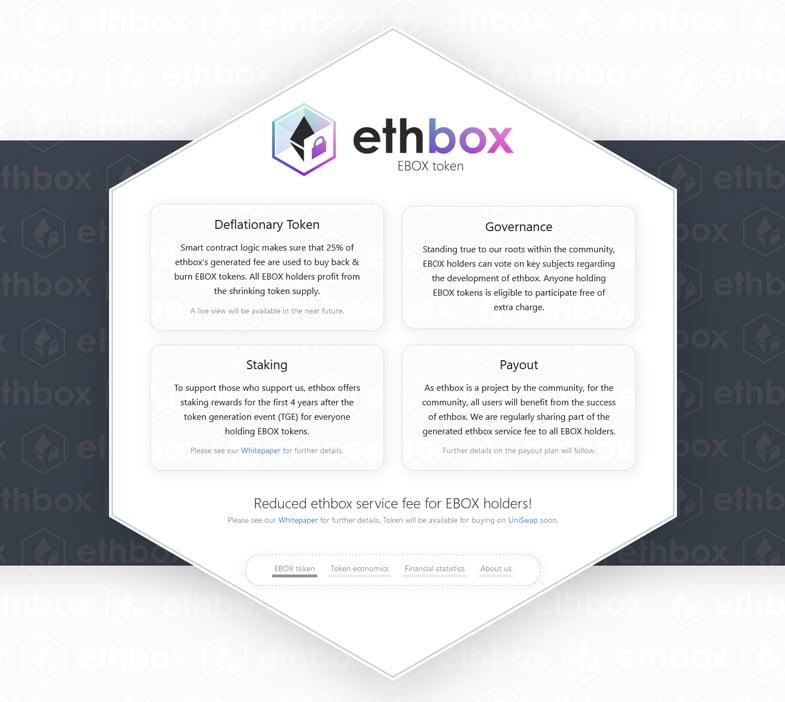 Ebox Token