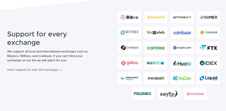 Support for every exchange
