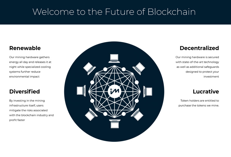 iM Intelligent Mining: A Green Path to Power Blockchain
